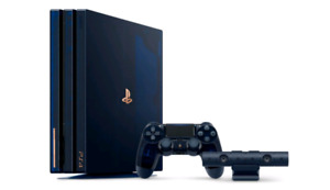 PS4 PRO 500 Million Limited Edition (RARE) - $1300 *SEALED*
