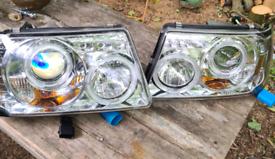 Ford Ranger Halo Headlights (2001 plus models)