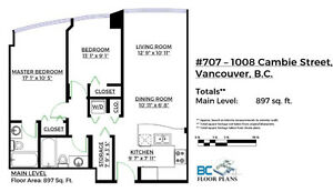 900SF 2 bed 2 full bath with amazing amenities