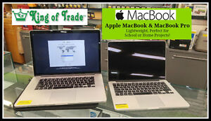 Apple MacBook and MacBook Pro - King of Trade!