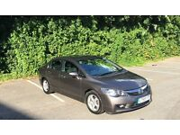 HONDA CIVIC 1.3 ES IMA HYBRID CVT SALOON SILVER 4 DOOR ELECTRIC AUTOMATIC