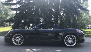 ***2016 Porsche Boxster Black Edition PDK Convertible