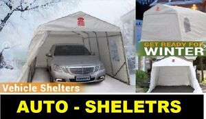 WINTER CAR SHELTERS FOR YOUR HOME - CARPORTS