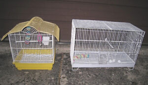2 Bird Cages for $35 and $25 in good clean condition