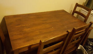 Refurbished dining set