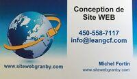 Conception de sites web - www.sitewebgranby.com