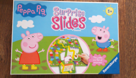 Peppa Pig board game and puzzle pack.