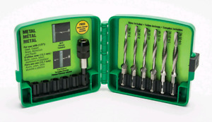 Greenlee Combination long drill/tap bit set