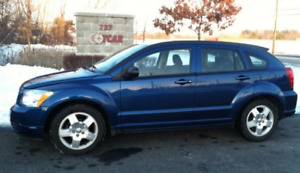 NOUVEAU PRIX 2009 DODGE Caliber SXT Blue + new winter tires!