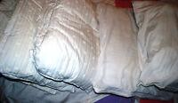 Oreillers usagés (used pillows)
