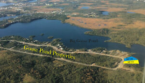 Waterfront Cabin or Home Lot Big Goose Pond Whitbourne