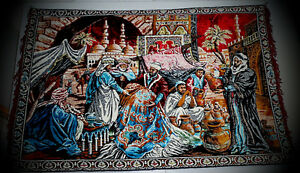 Wall Carpet / Tapestry - At the Casbah