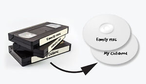 $9.00 - Convert VHS and other Videos to DVD or Thumb drive!