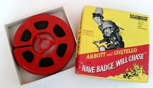 Vintage Abbott & Costello Have Badge, Will Chase #850 Super 8mm