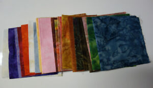 Batik Cotton Quilt Fabric Stash