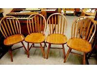 SALE NOW ON!! - Set Of 4 Dining / Kitchen Chairs -Can Deliver For £19