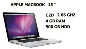 MacBook Pro 15 - inch  Many for sale , starts 399$