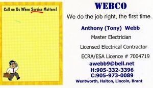 Retired Master Electrician