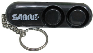 SABRE 110dB PERSONAL SAFETY ALARM - GET LOTS OF ATTENTION FAST!