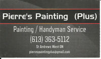Pierre's Painting Plus ( Hourly Rates )