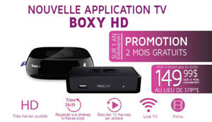 BOXYHD : ROKU,MAG 322 W1,SMART TV,IPHONE,PC..