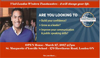 OPEN HOUSE - London Western Toastmasters