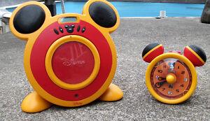 Lecteur CD et réveil matin Micky Mouse West Island Greater Montréal image 1