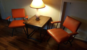 A Pair of Vintage Mid-Century Chairs