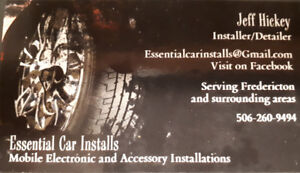 ECI Car audio/electronics installation (Mobile)