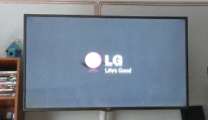 "50"" 3D LED 1080p LG Smart TV"