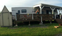 ***2010 38 BHDS Keystone Hideout with LARGE deck***