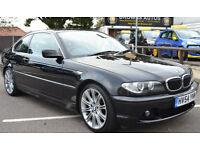 BMW 325 2.5 2004 Ci SE, 108K MILES, S/HISTORY, JUNE MOT, LEATHER, SUNROOF