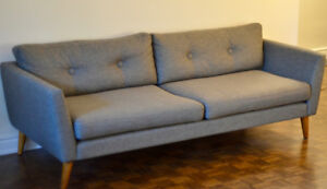 Article Sofa - Emil Gravel Gray (like new, under 3 months old)