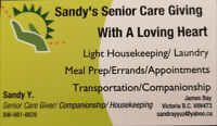 Senior Care And House Cleaning