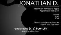 Reparations iPhone, iPod et iPad