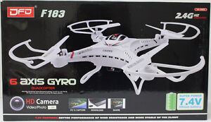 Quadcopter Helicopter with CameraQF183 Drone 6 Axis 2.4G 4CH RC