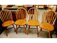 Set Of 4 Dining / Kitchen Chairs - Can Deliver For £19