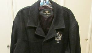 Authentic Toronto Maple Leaf Alumni Winter Wool Coat