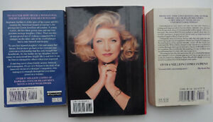 3 Barbara Taylor Bradford books including 1st Edition hardcover Oakville / Halton Region Toronto (GTA) image 2