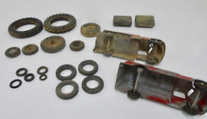 Vintage Toy Car Truck Tractor Replacement Tires