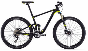 2016 GIANT ANTHEM 2 27.5 MATT/GLOSS BLACK SMALL