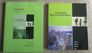Principles of Macroeconomics and Study Guide Kitchener / Waterloo Kitchener Area image 1