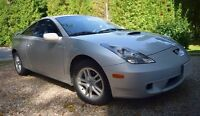 2001 Toyota Celica 68,000kms - Manual- TINT
