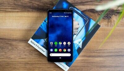 Nokia 9 PureView 128GB TA-1082 Unlocked Midnight Blue In Great Condition.