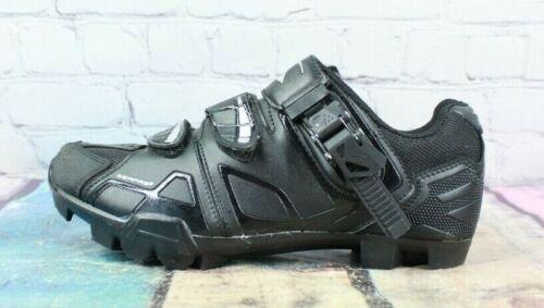 Serfas Xenon Womens Black Leather Mountain Bike Shoes Sneakers Size 7