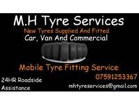 Mobile Tyre fitting, Great Prices!!