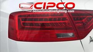 2014 Audi A5 Tail Light, Tail Lamp Right = Passenger Side / Outer | Quarter Panel Mounted / Used | Clean & Undamaged