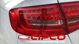 2013, 2014, 2015, 2016 Audi A4, S4 Left Driver Side, Right Passenger Side OE, OEM Tail Light, Lamp Assembly Replacement