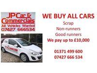 Sell my car scrap my car Cars bought