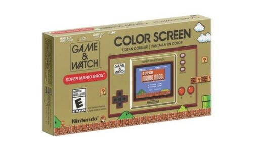 Nintendo GAME WATCH SUPER MARIO BROS  - $95.00